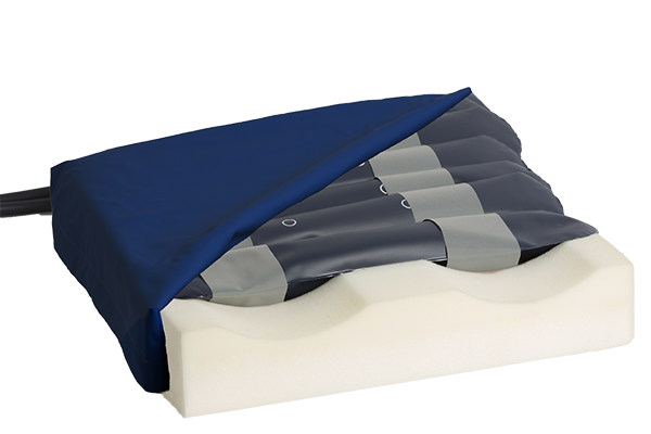 Anti decubitus alternating pressure cushion