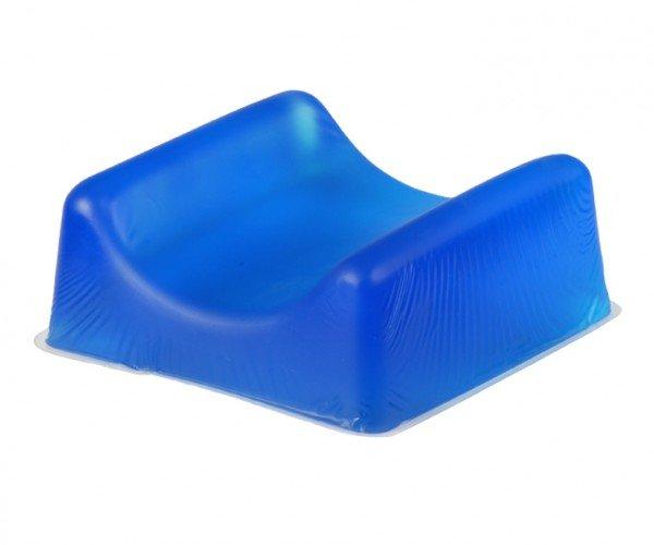 Anti decubitus contoured headrest gel