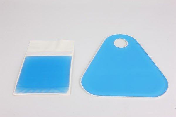 Anti decubitus fracture pads gel